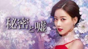 韓国ドラマ|秘密と嘘を日本語字幕で見れる無料動画配信サービス